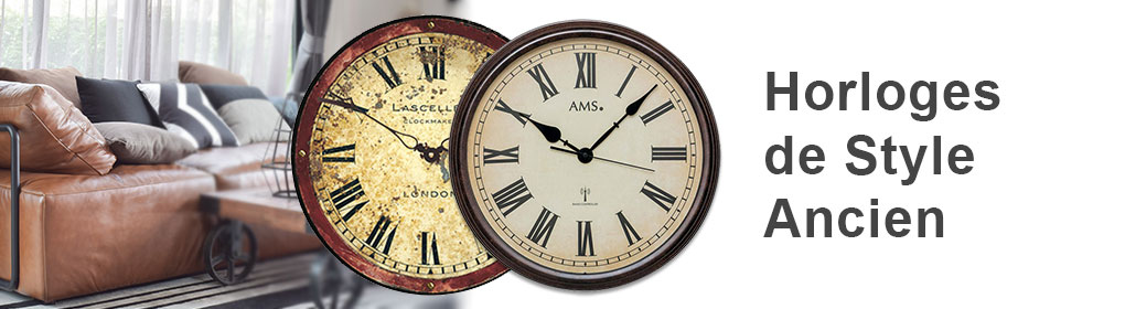 horloges de style ancien horloges murales meilleur prix. Black Bedroom Furniture Sets. Home Design Ideas