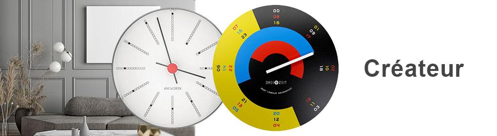Horloges Murales - Créateur