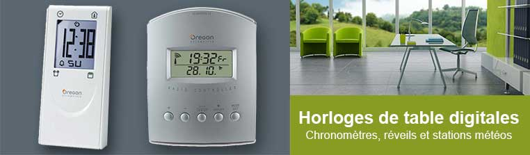 Horloges de Table Digitales