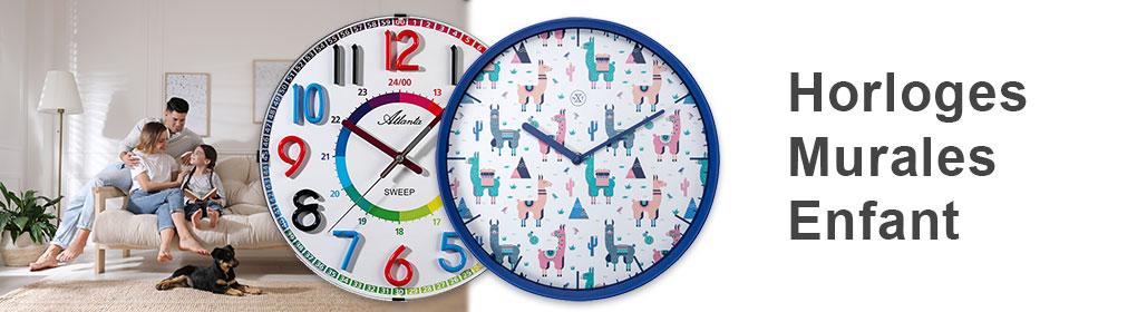Horloges Murales Enfant