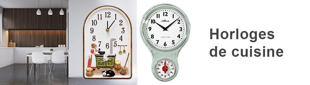 horloges de cuisine horloges murales meilleur prix. Black Bedroom Furniture Sets. Home Design Ideas