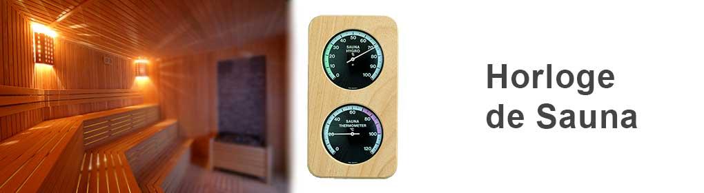 Horloge de Sauna