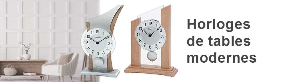 Horloges de tables modernes