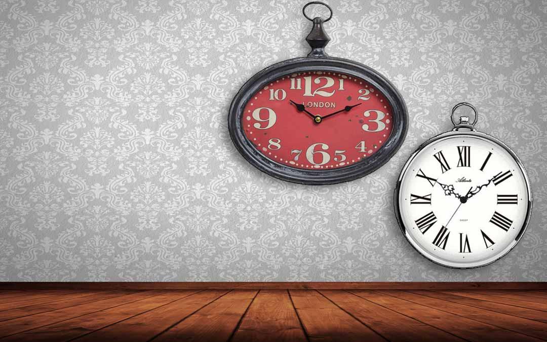 montres-de-poche-comme-horloges-murales