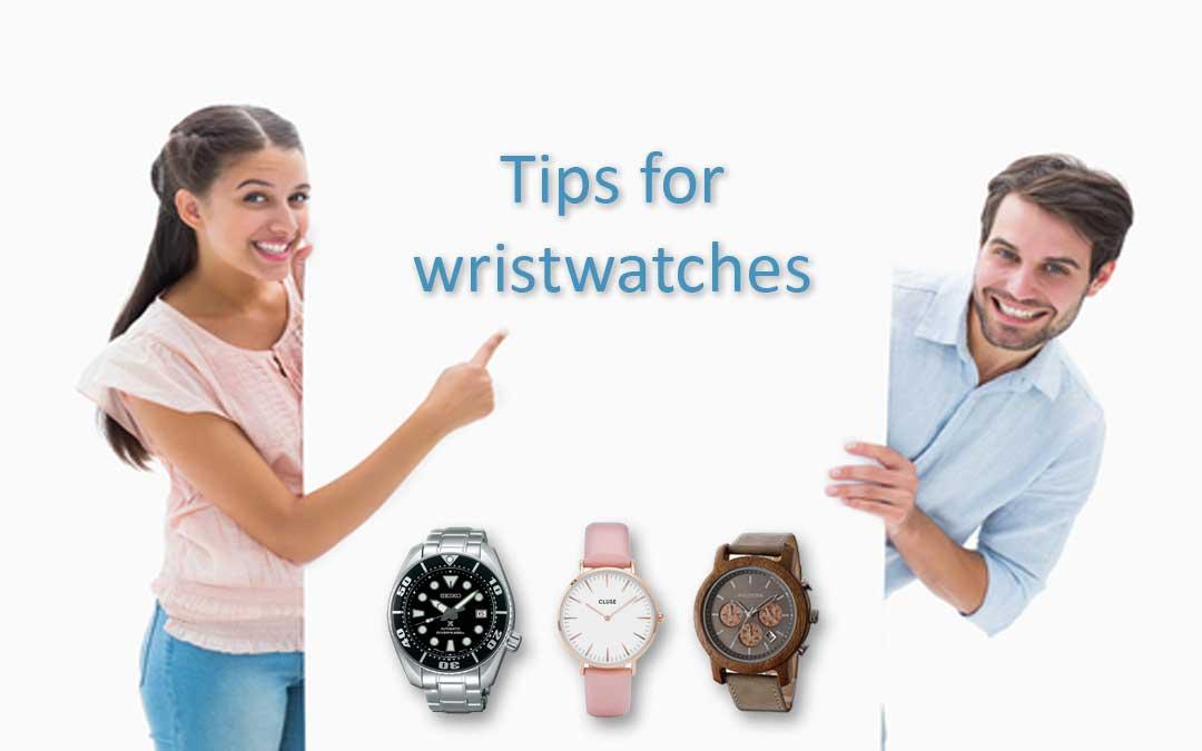 Instructions et astuces pour les bracelets-montres