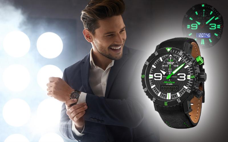 Illumination et chiffres lumineuses des montres