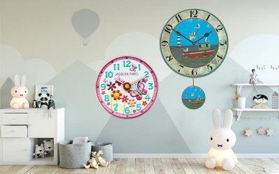 Horloge murale pour enfants rend indépendants?