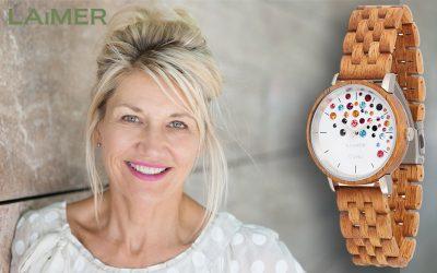 Le montre en bois Laimer 0109 pour tout le monde!