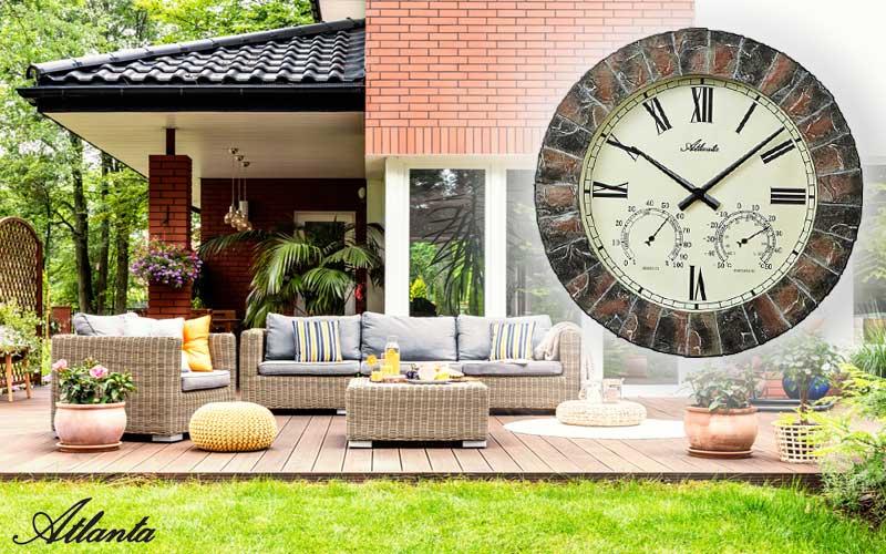 L'horloge d'extérieur Atlanta 4479 pour l'automne