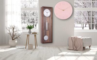 Horloges murales pour une atmosphère chaleureuse