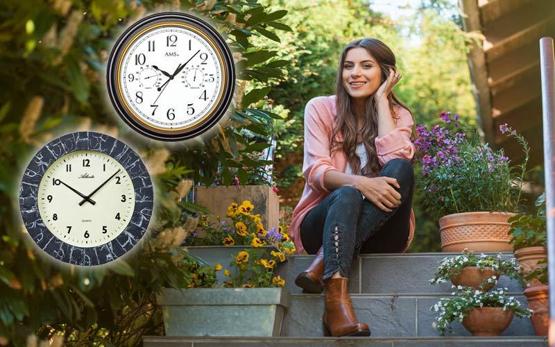 Horloges d'extérieur pour chaque saison