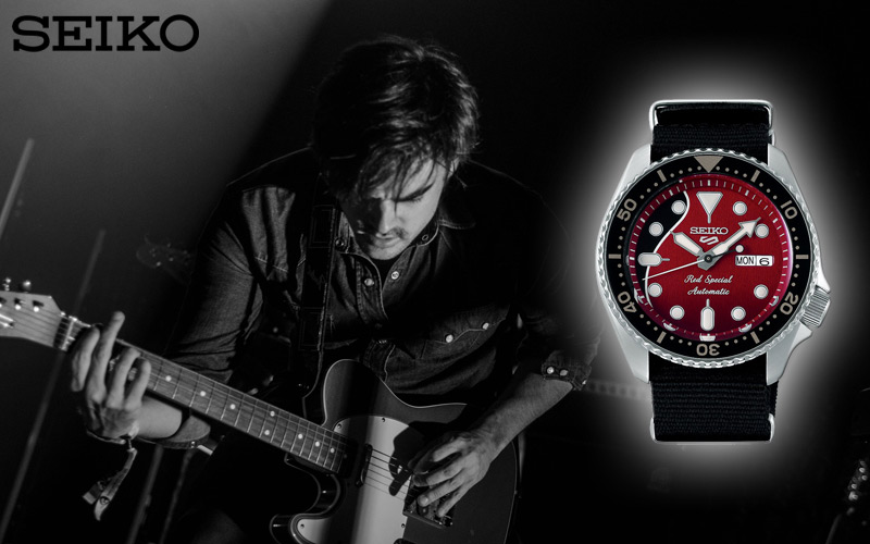 Seiko SRPE83K1 Red Special Limited Edition
