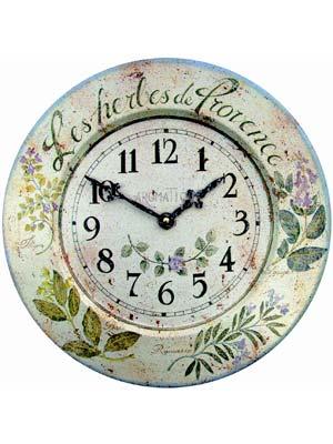 Horloges murales à la mode: Roger Lascelles TIN/HERBES