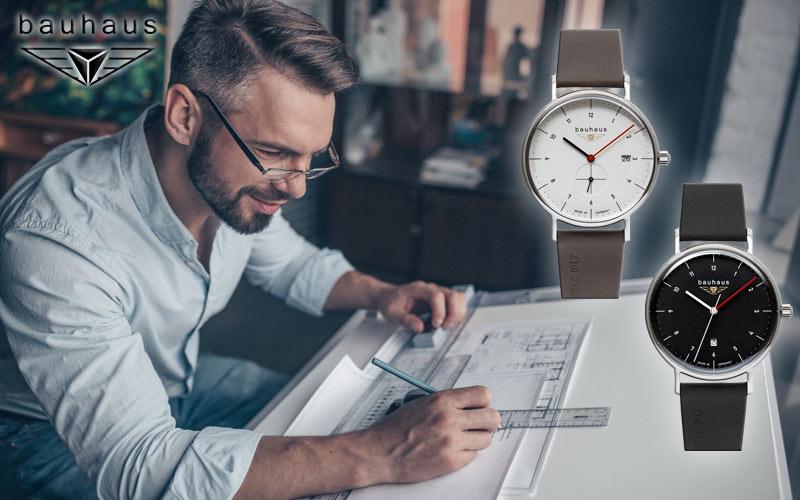 Nos nouvelles montres Bauhaus