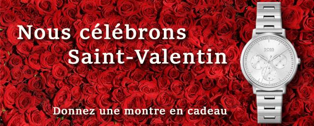 Montres  de la Saint-Valentin