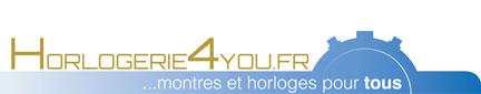 http://www.horlogerie4you.fr/horlogerie4you.fr Logo